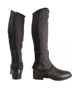Hy Synthetic Leather Childs Half Chaps